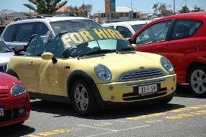 Car for hire in Australia
