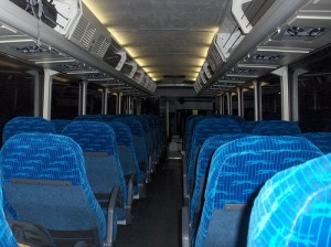 inside a greyhound