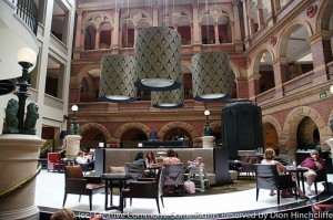 intercontinental hotel sydney lobby
