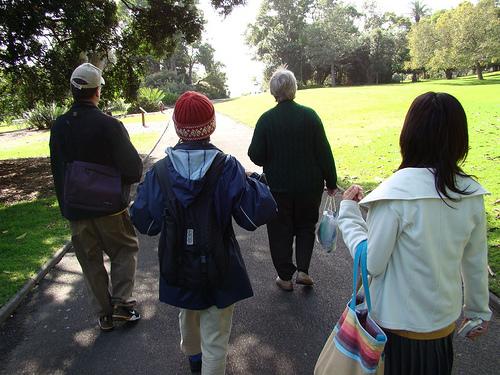 walking sydney botanic gardens