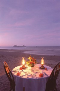 private kewarra beach romantic dinner