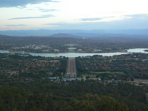 canberra from afar