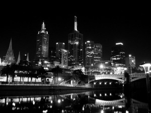 melbourne night