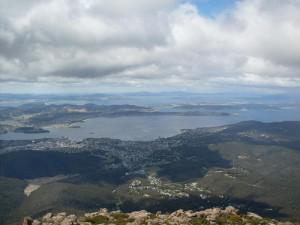 mount wellington hobart view