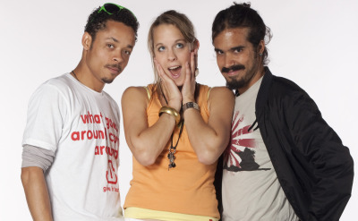 Expedition 206 winners: Tony, Kelly, & Antonio