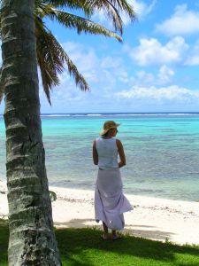 Island Girl by the Sea