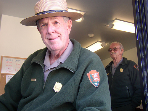 Your friendly local park ranger (courtesy lyrabellacqua on flickr's Creative Commons)