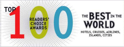 CNTraveler Readers\' Choice Awards