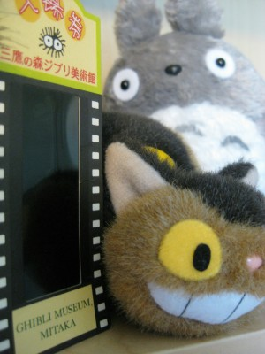 Ghibli Museum souvenirs (photo by Sheila Scarborough)