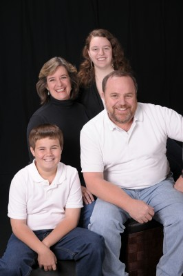 The Scarborough and Fancher family photo 2010 (courtesy Korey Howell)