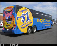 Megabus Offers $1 Fare From LA to Vegas