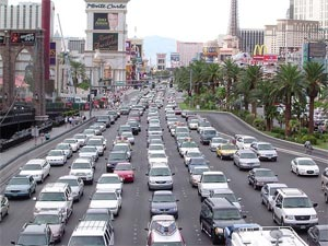 Vegas traffic