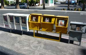 News boxes