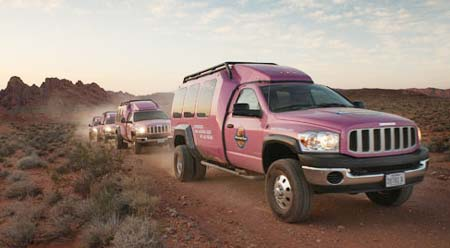 Pink Jeep Tours Rolls Out New Vehicles Las Vegas Travel