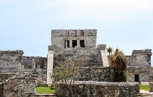 Cancun Mayan vestige