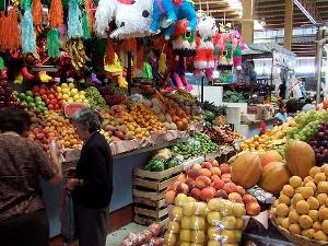 Market in Mexico