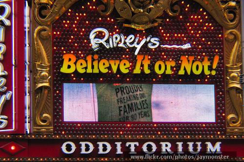 Ripley's Believe it or Not Odditorium NYC