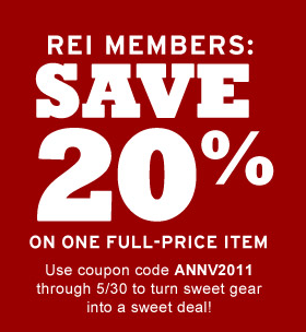 The REI Visa Card is the only rewards credit card that helps you get a bigger REI dividend and gives back to the outdoors. Every purchase increases your dividend when you use your REI Visa card.